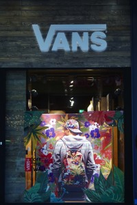 vans windows fashion stylist manchester