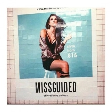 More of the NYC Advertising campaign for mega babes @missguided live on Billboards and in Subways Stateside NOW by Team.ME  Hair and Make up by .ME Aly Steer @alysteer  Model - Cindy @cindymello @premiermodels @fordmodels  Client - Missguided @missguided