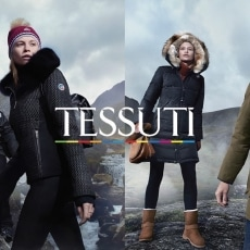 Advertising Campaign for Tessuti - Hair and Makeup by @lourothwellmakeup