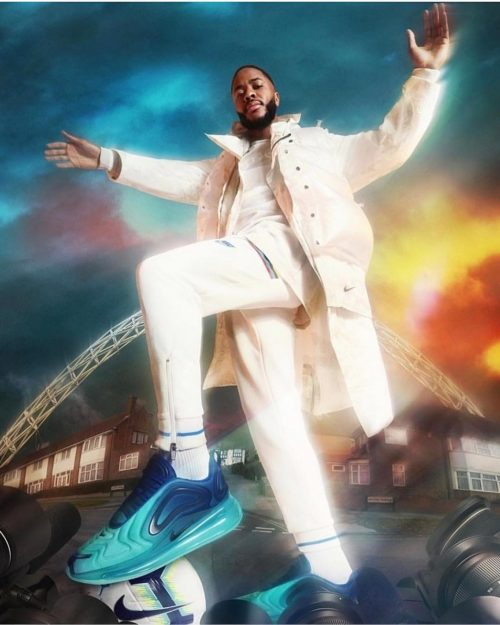 Tuesday Let's DO THIS. Brand new @nike Campaign with @jdofficial Starring Raheem Sterling by Team.ME Grooming .ME Lou RothwellDirector: Alan ClarkeProduction: Shoot EuropeModel: Raheem SterlingStudio: Foundry FilmsClient: Nike